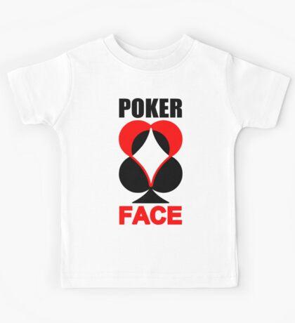 Poker Face Kids Tee