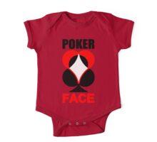 Poker Face One Piece - Short Sleeve