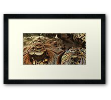 Above sands of Dune Framed Print
