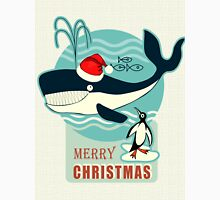 Santa Claus and the Whale.... T-Shirt