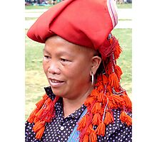 Red Dzao Photographic Print
