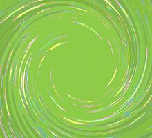Lime Spin Design by Betty Mackey