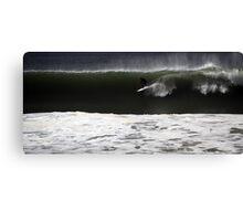 Big Wave Burleigh Canvas Print