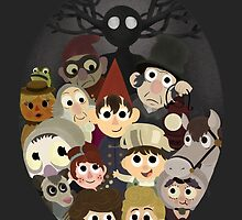 Over the garden wall and friends by Ava  Margalski