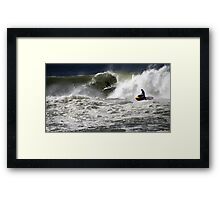 After The Tow Framed Print