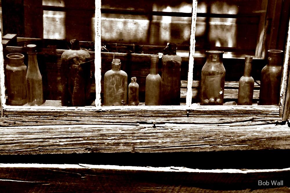 Bodie Bottles by Bob Wall