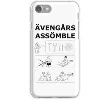 Superheroes Assembling iPhone Case/Skin
