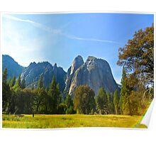Elysian Fields in Yosemite Poster