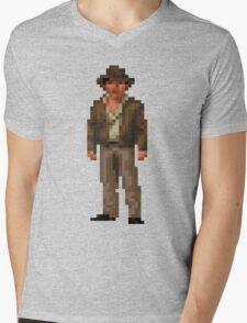 Indiana Jones and The Fate of Atlantis #01 Mens V-Neck T-Shirt