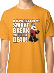 Pissed OFF Panda Smoke Break Classic T-Shirt