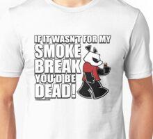 Pissed OFF Panda Smoke Break Unisex T-Shirt