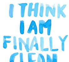 "Taylor Swift: ""Clean"" Sticker"