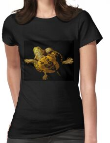 Wild nature - turtle Womens Fitted T-Shirt