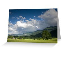 After storm light Greeting Card