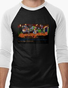 Maniac Mansion - Day of the Tentacle #01 Men's Baseball ¾ T-Shirt