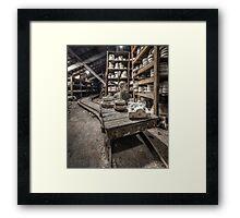 Pottery Framed Print