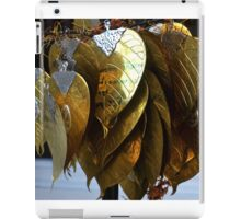 gold leaves iPad Case/Skin