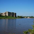 Carew Castle & Tidal Mill by Neil Evans
