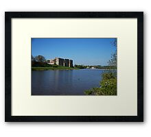 Carew Castle & Tidal Mill Framed Print