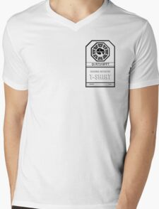 LOST Dharma Initiative Mens V-Neck T-Shirt