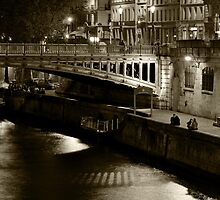 Pont au Double, Paris by Eric Flamant