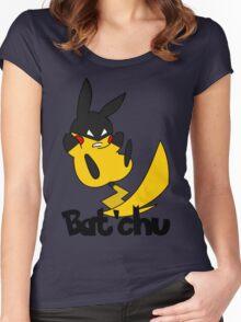 Bat'chu Women's Fitted Scoop T-Shirt