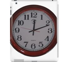 clock iPad Case/Skin