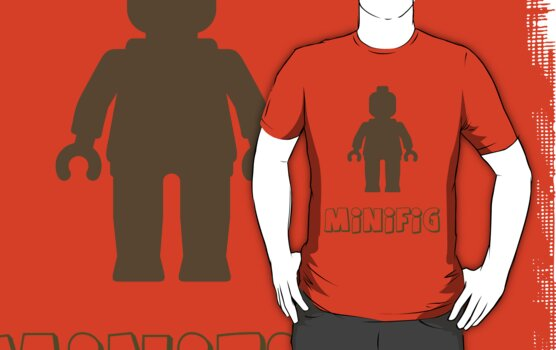 Minifig [Light Brown] by Customize My Minifig by ChilleeW