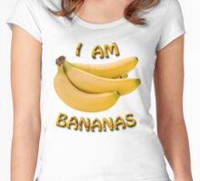 I Am Bananas Women's Fitted Scoop T-Shirt