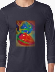 Dreamy peppers abstract Long Sleeve T-Shirt