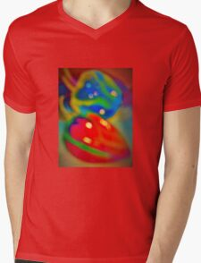 Dreamy peppers abstract Mens V-Neck T-Shirt