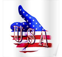USA - Thumbs Up Poster