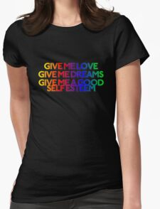 GIVE ME BLUE Womens Fitted T-Shirt