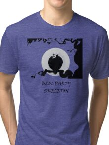 Owl - Bloc Party Tri-blend T-Shirt