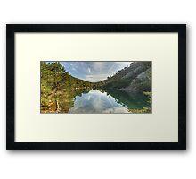 Walks In The Cairngorms..Lochain Uaine Framed Print