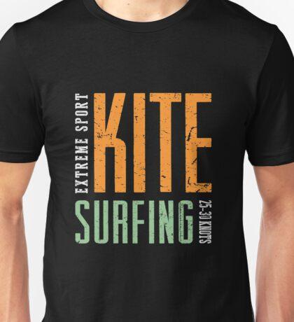 Extreme Sport Kitesurfing Art16c Unisex T-Shirt