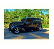 1937 Ford Sedan Delivery Truck Art Print
