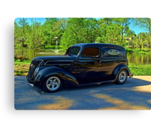 1937 Ford Sedan Delivery Truck Canvas Print