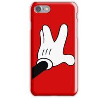 Trekkie hand fingers iPhone Case/Skin