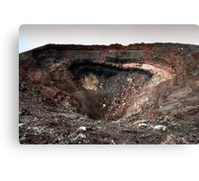 The Crater Canvas Print