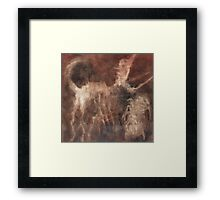 Ghost of Spider and Memory of Dog Share a Joke Framed Print