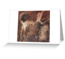 Ghost of Spider and Memory of Dog Share a Joke Greeting Card
