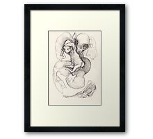 The Lamb, The Sheep and the Holy Roast Framed Print