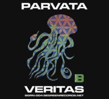 Parvata - Veritas Merch (Hippy Flower of Life 11) by David Avatara