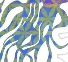 Parvata - Veritas Merch (Hippy Flower of Life 11) Sticker