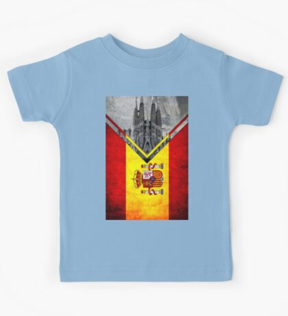Flags - Spain Kids Tee