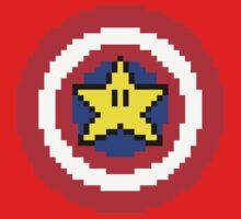 Captain pixel Baby Tee