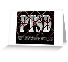 PTSD - The Invisible Wound Greeting Card