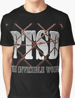PTSD - The Invisible Wound Graphic T-Shirt
