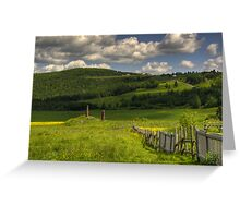Countryside 3 Greeting Card